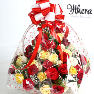Lover's flower basket