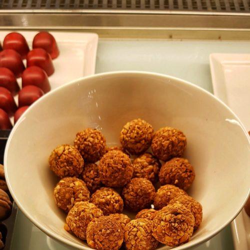 Peanut truffles