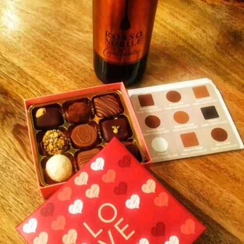 Valentines truffles