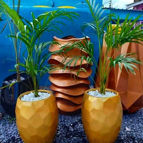 Prism fiber planter